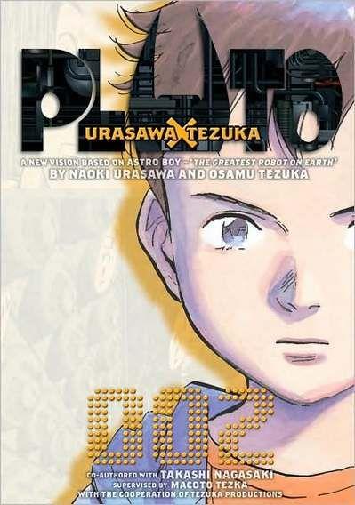 PLUTO ตามล่านักฆ่าแอนดรอยด์(Naoki Urasawa) เหตุการณ์หุ่นยนต์แอนดรอยด์ถูกทำลายพร้อมกับคดีฆาตกรรมมนุษย์ที่ทิ้งปริศนาเขาคู่เอาไว้ ความหมายของมันคืออะไร? และใครคือฆาตกร?