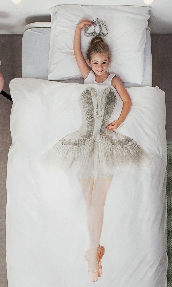 Snurk Beddengoed Ballerina. Koop je gemakkelijk online bij Slaaptextiel.nl. #Snurk #beddengoed #dekbedovertrek #meisje