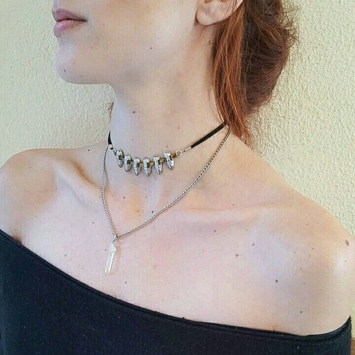 A spiked quartz choker would make the perfect christmas gift 😍