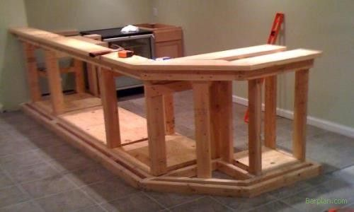 How to Build an Outdoor Bar   How to Build a Home Bar - Easy to Build Projects and Original Design ...