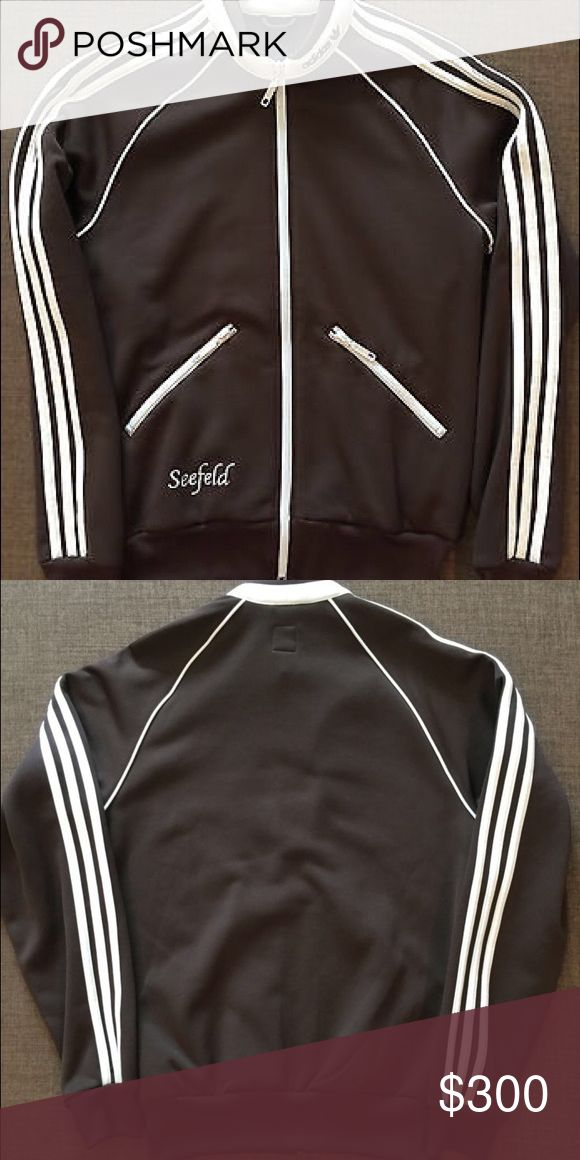 "* RARE * Adidas 'Seefeld' track jacket 🎉 VERY EXCLUSIVE, RARE, LTD EDITION ADIDAS 'Seefeld' Track Jacket. Size XL. brown with off white details included embroidered ""Seefeld"". Get it before it's gone!!! Adidas Jackets & Coats Performance Jackets"