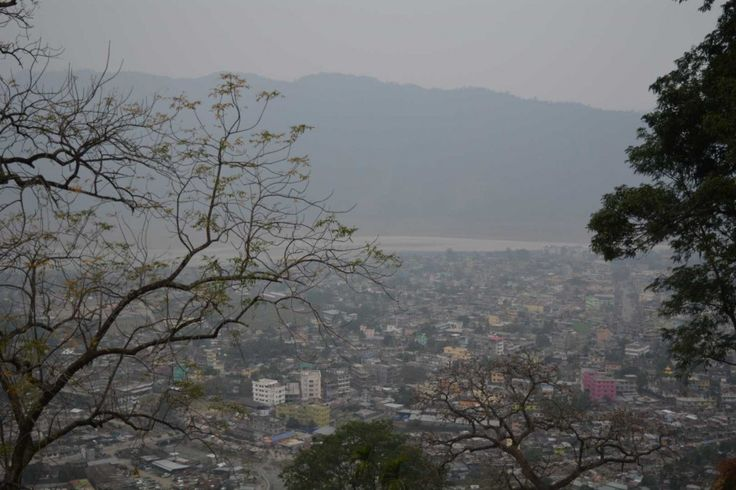 Birds Eye View of Phuentsholing