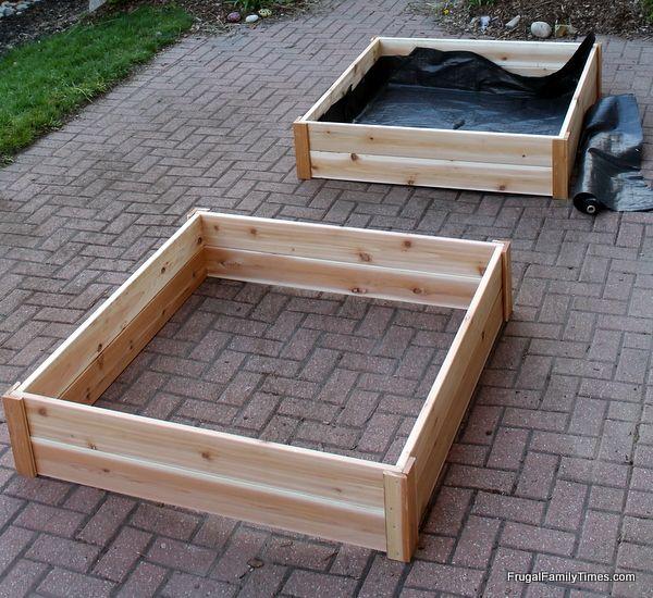 best 25 cheap raised garden beds ideas on pinterest cheap garden ideas diy raised garden. Black Bedroom Furniture Sets. Home Design Ideas