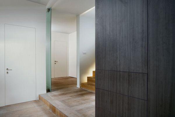 Xinnix verdekt deurkozijn inclusief verdekte scharnieren - Eclisse schuifdeur ...