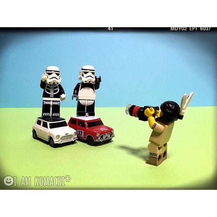 mini #レゴ #ブロック #ミニフィグ #スターウォーズ #おもちゃ #玩具 #インディアン #ストームトルーパー # #カメラ #車 #ミニクーパー #lego #brick #toy #starwars #legostarwars #Indian #tribalwoman #stormtrooper #legominifigures #minifigures #minifigure #minifig #legostagram #legophotography #miniature #car #minicooper #camera by i_am_komachi