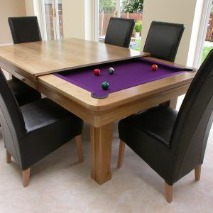 Convertible Dining Room Pool Table
