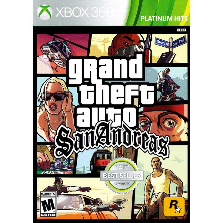 Grand Theft Auto San Andr X360