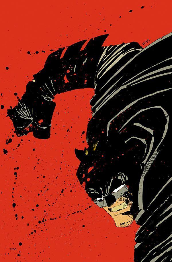 Comic Book Artist: Frank Miller | Abduzeedo | Graphic Design Inspiration and Photoshop Tutorials