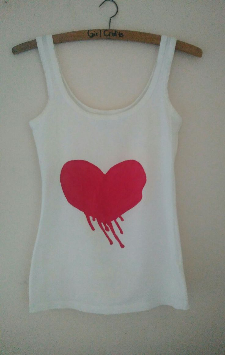 #hearts #hearts #grunge #diy #vest