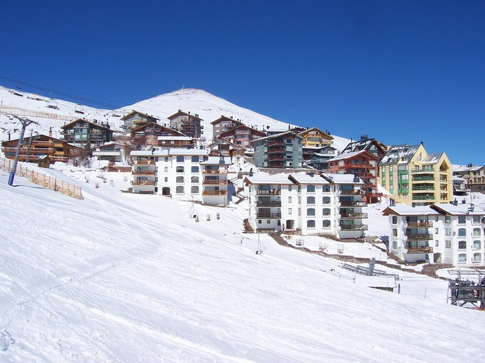 Slopeside lodging at La Parva, Chile
