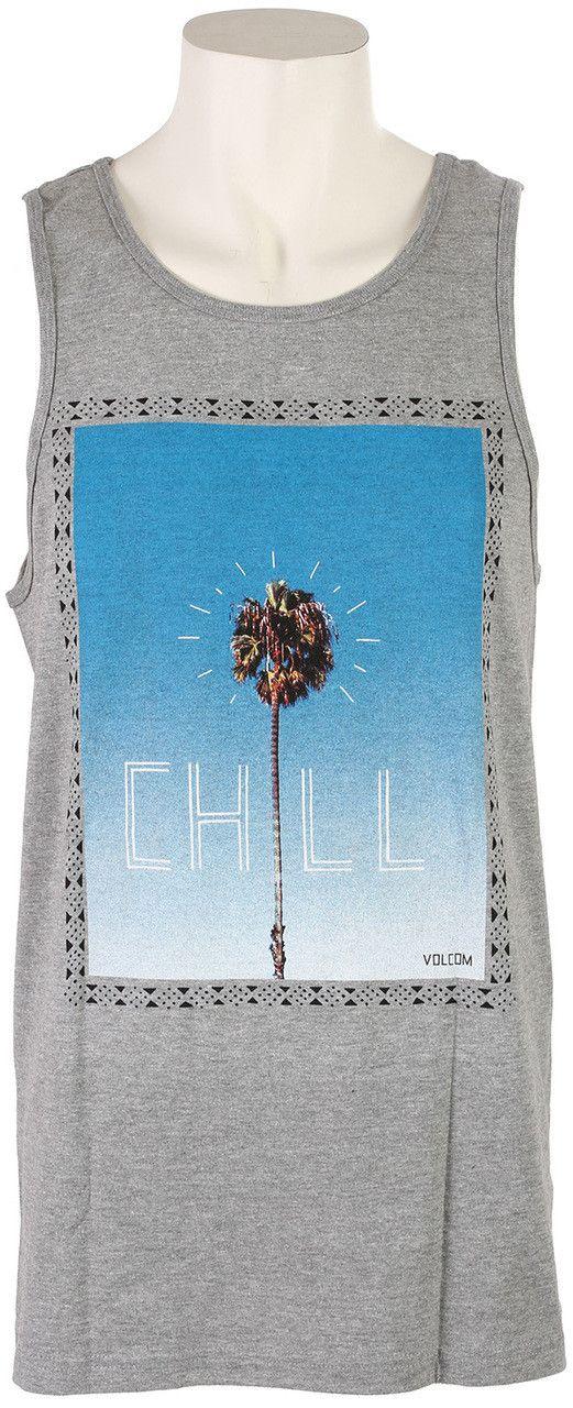 Volcom Chill Men's Tank Heather Grey A4521501HGR