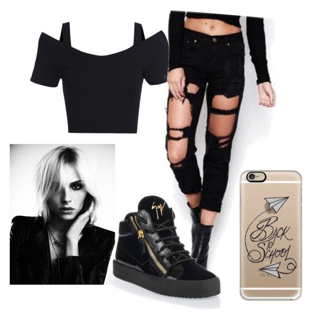 2ni by chicchampion-579 on Polyvore featuring polyvore, fashion, style, Giuseppe Zanotti and Casetify