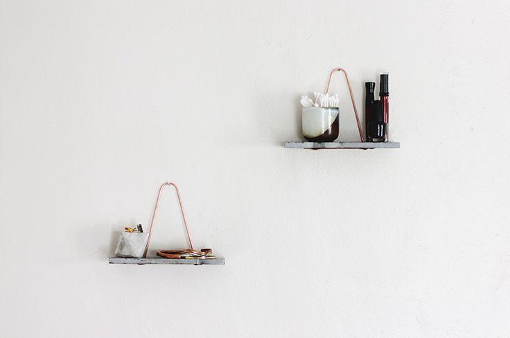 DIY Marble Shelf @Matt Valk Chuah Merrythought