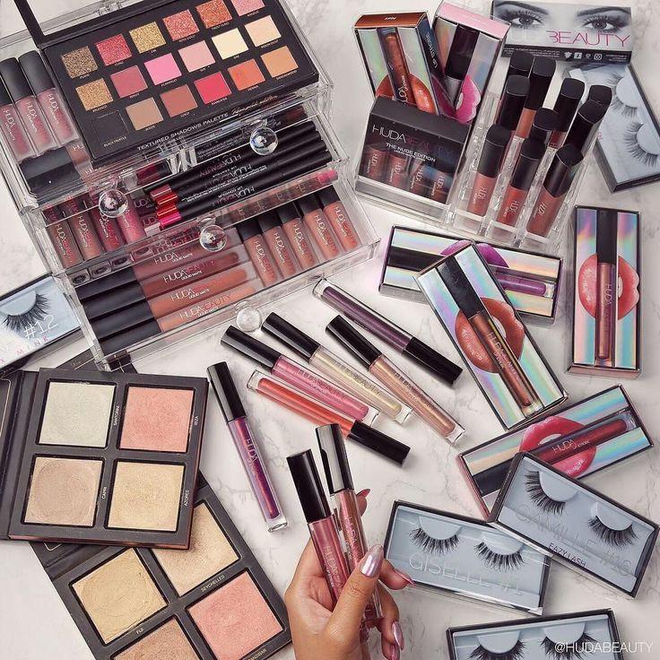"""Pausa Para Feminices on Instagram: """"Desejando toda essa coleção da @hudabeauty ❤️❤️❤️ -------------------- I wish I has all these @hudabeauty products ❤️❤️❤️"""""""