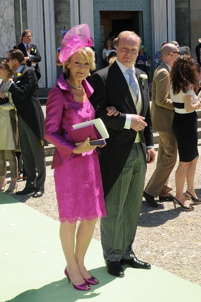 Princess Irene of the Netherlands and her eldest son Prince Carlos of Bourbon Parma