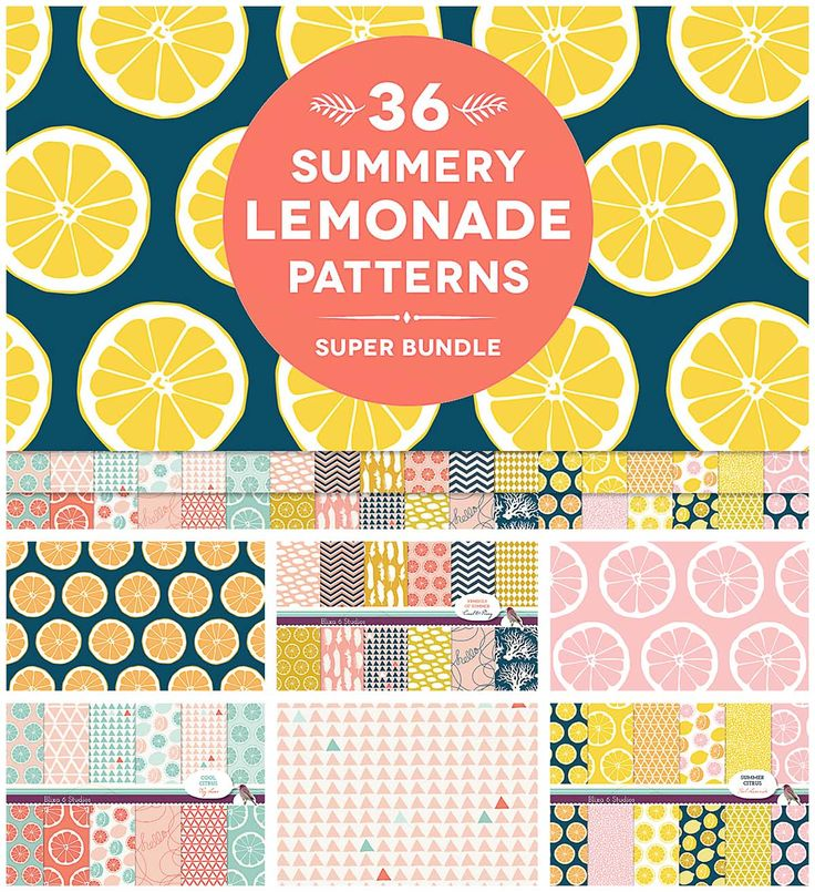 Description: Set of 36 graphic pattern sheets with orange,grapefruit,lemons slices are great for scrapbooking, printable wrapping paper, card making, crafts, collages, gift tags, wedding decorations, baby showers and party invites. For personal use. Free for download. File format: .jpg for Photoshop or other vector software. File size: 43 Mb.