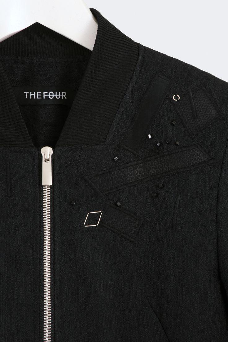Zodiac Jacket #thefour #ss15 #embellishment #detail