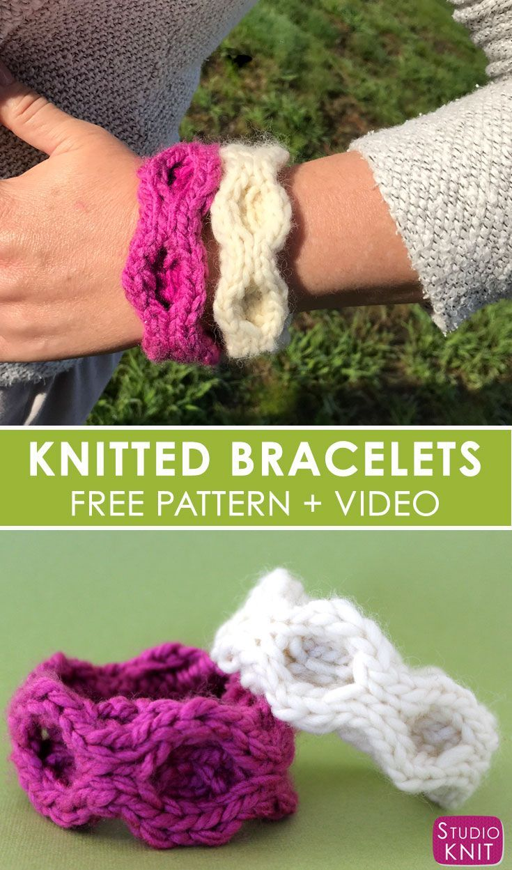 The 82 best Knit Jewelry Patterns images on Pinterest | Knit ...