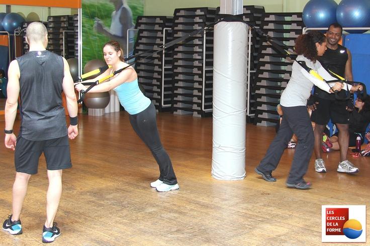 Découvrez les cours de TRX aux Cercles de la Forme à Paris. Pour plus d'informations sur les cours de TRX Les Mills à Paris  http://www.cerclesdelaforme.com/  #TRX #cours #fitness #paris #musculation