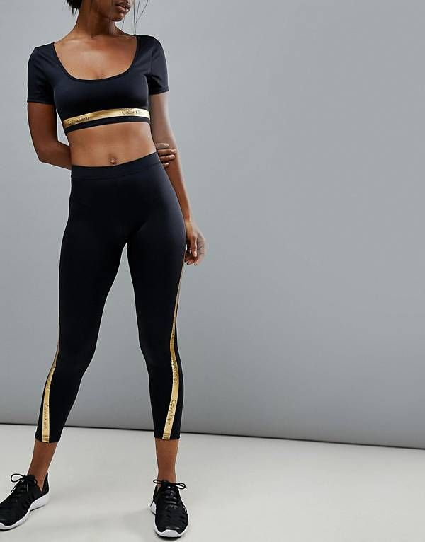 31c2a4958661e6 Calvin Klein Beach Active Legging Sports Shoes, Sport Outfits, Fitness  Fashion, Sportswear,