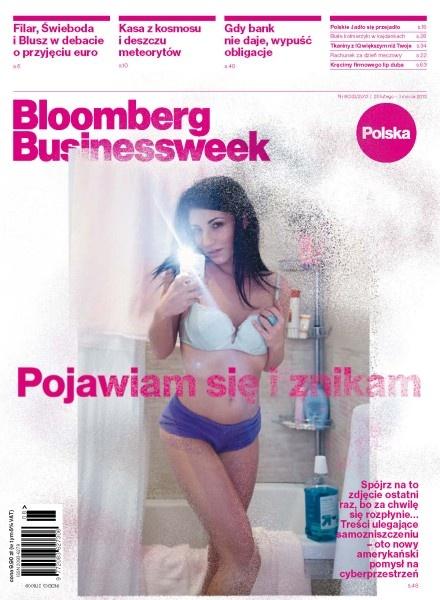Wbrew pozorom #Bloomberg Businessweek Polska to pismo biznesowe, a nie erotyczne. Sądząc po okładce telefon do redakcji zaczyna się na 0-700.