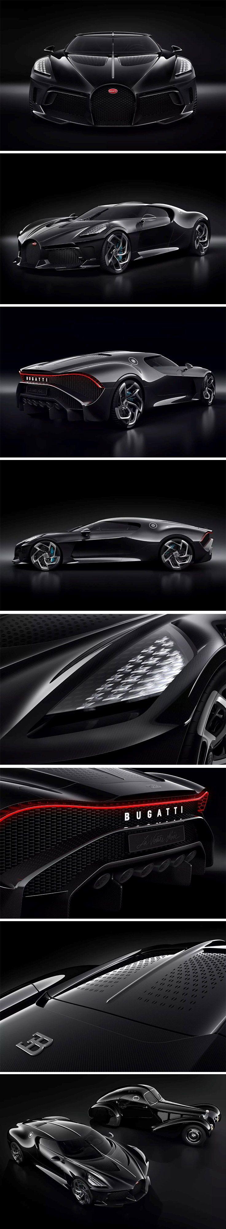 Eine moderne Neuinterpretation von Jean Bugattis Typ 57 SC Atlantic, dem …