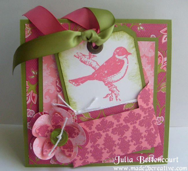 Friends 24-7 Raspberry Tart BDay Card