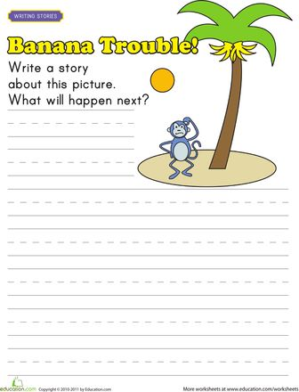 20 best story writing images on Pinterest | Writing practice ...
