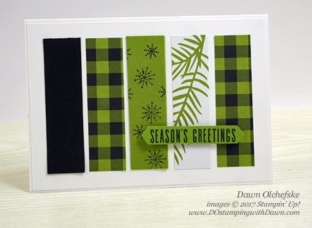 Season's Greetings Note Card-landscape by dostamping - Cards and Paper Crafts at Splitcoaststampers