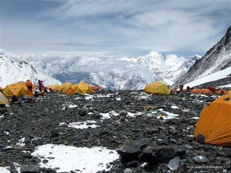 South Col camp 4