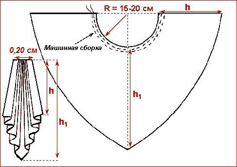 Corbata de drapeado