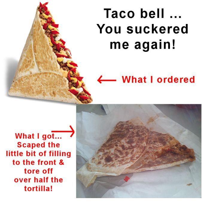 New Grilled Stuft Nacho at Taco bell!