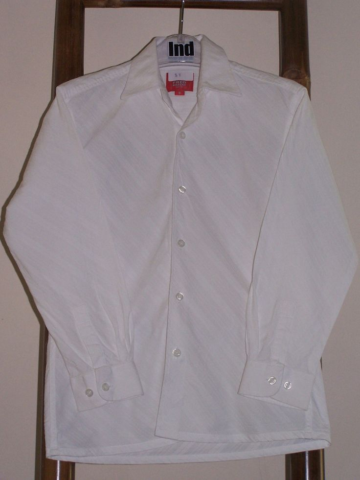 Boys Fred Bracks Size 8 Shirt