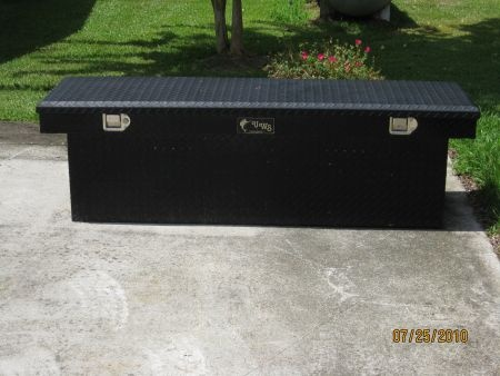 kobalt truck tool box black 2