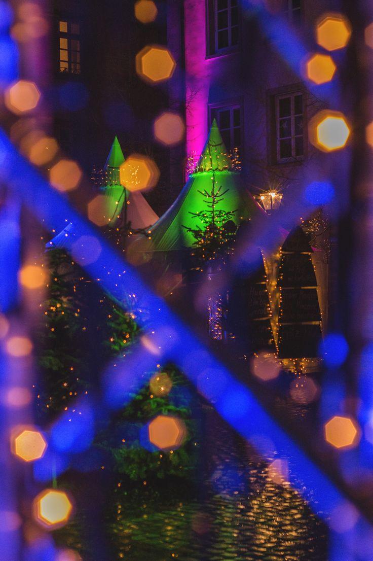 German Christmas Market in Heidelberg - Kornmarkt
