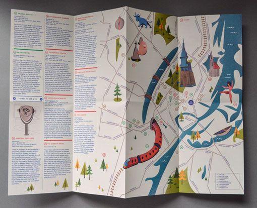 Copenhagen Map.