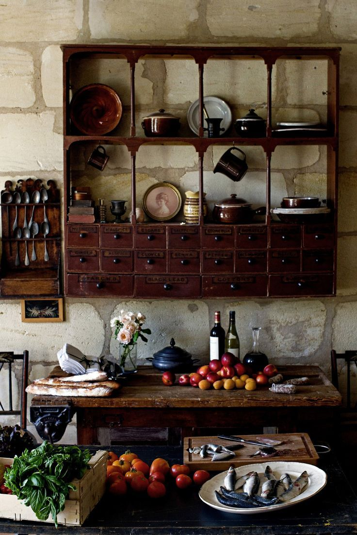 2770 best unique shelving images on pinterest for Rustic french country