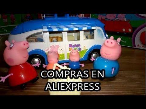 Autocaravana de Peppa Pig. Compras en AliExpress. Shopping AliExpress. #...