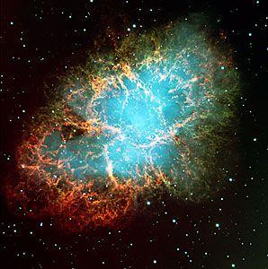 Der Krebsnebel im Sternbild Stier