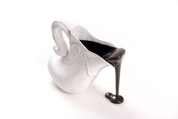 20 De los m�s Curiosos Dise�os de zapatos de Tac�n
