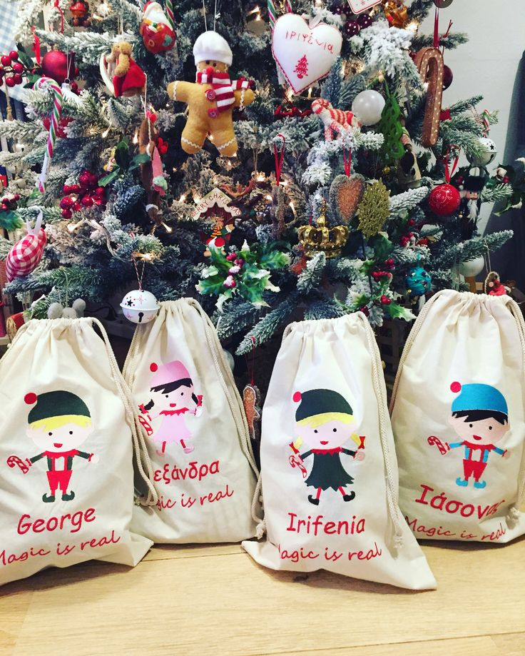 new personalised santa sacks by cotton prince