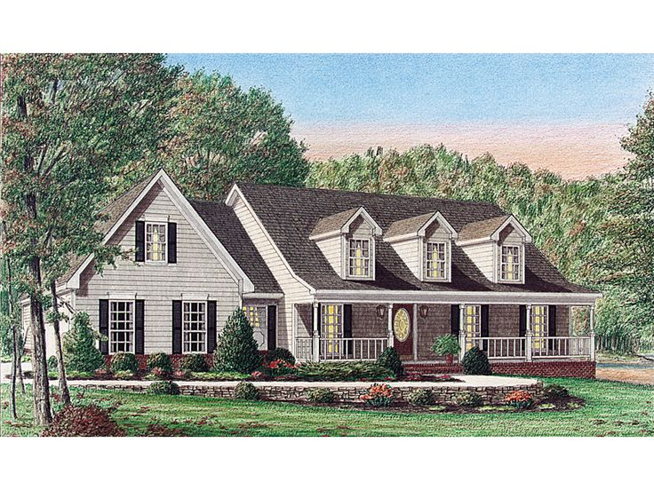 Southern Country Homes Plans House Design Ideas