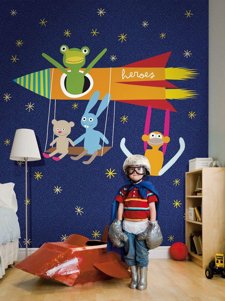Universe /non-woven mural / lavmi