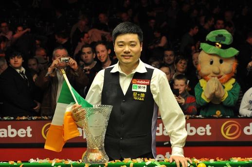 Ding Jun Hui, Dafabet PTC Grand Finals 2013 Champion, Neil Robertson 3-4 Ding Jun Hui