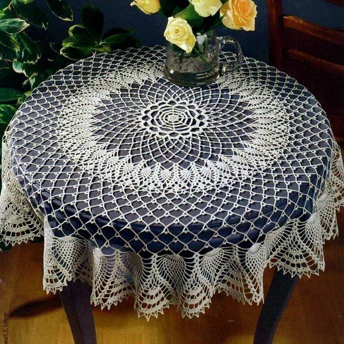 Crochet Tablecloth Pattern - Gorgeous Crochet Lace
