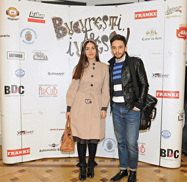 Bucharest, I love You screening - Ioana Voicu and Claudiu Enescu, www.mauvert.com