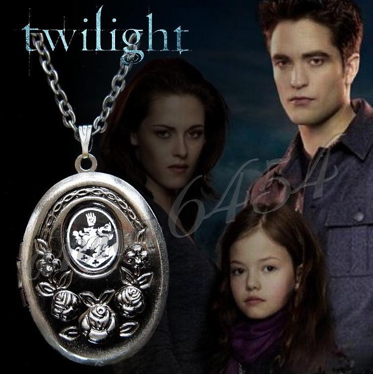 Twilight Breaking Dawn - Renesmee Crest NECKLACE LOCKET ...