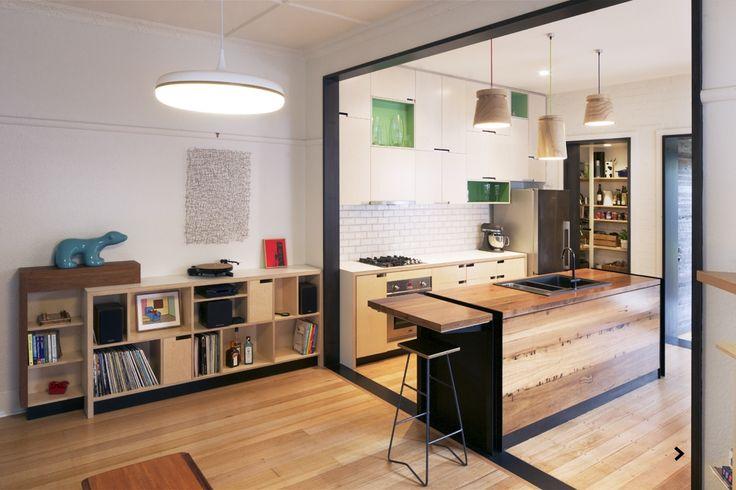 Arcke.com.au. Kitchen and living.