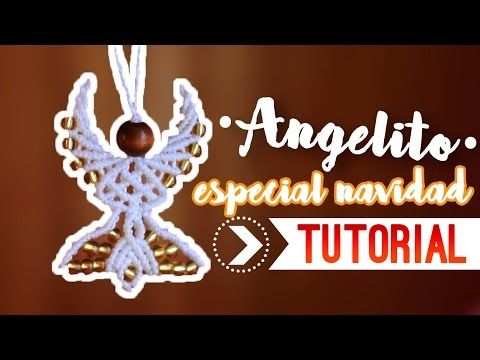 Angelito / ♥︎ Tutorial de macramé | DIY | Paso a paso - YouTube