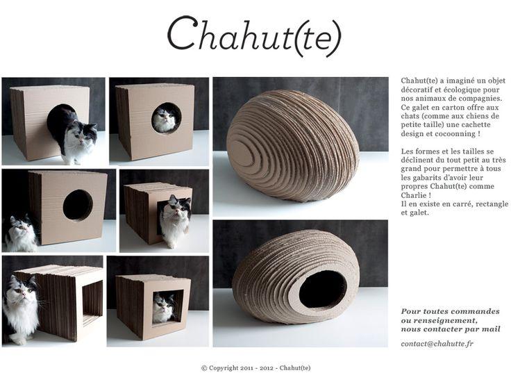 oltre 25 fantastiche idee su niche pour chat su pinterest niche chat niche chien e caisse chien. Black Bedroom Furniture Sets. Home Design Ideas